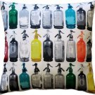 Pillow Decor - Seltzer Jazz Vintage Throw Pillow 20x20  - SKU: MOV-0009-01-20