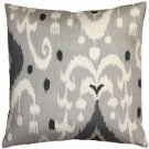 Pillow Decor - Indah Ikat Gray 20x20 Throw Pillow  - SKU: VB1-0029-03-20