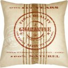 Pillow Decor - Quality Guarantee Red Print Throw Pillow  - SKU: VB1-0007-02-24
