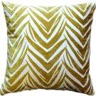 Pillow Decor - Samba Yellow 20x20 Throw Pillow  - SKU: DC1-0004-02-20