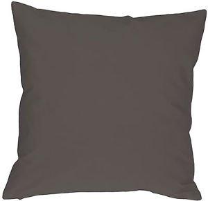 Pillow Decor - Caravan Cotton Dark Gray 18x18 Throw Pillow