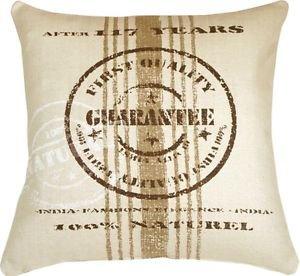 Pillow Decor - Quality Guarantee Brown Print Throw Pillow  - SKU: VB1-0007-01-24