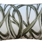 Pillow Decor - Flair 12x20 Green Throw Pillow  - SKU: DC1-0001-03-92