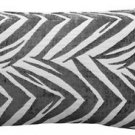 Pillow Decor - Samba Gray 12x20 Throw Pillow  - SKU: DC1-0004-03-92