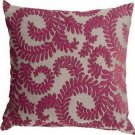 Pillow Decor - Brackendale Ferns Pink Throw Pillow  - SKU: SD1-0001-03-22