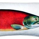 Pillow Decor - Salmon Fish Pillow 12x20  - SKU: PD2-0010-01-92