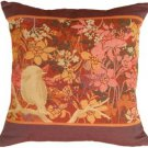 Pillow Decor - Chickadee Garden Bird Pillow - SKU: AB1-8399-00-19
