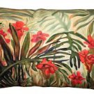 Pillow Decor - Jungle of Ferns 12x20 Throw Pillow  - SKU: SH1-0001-01-92