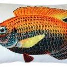 Pillow Decor - Princess Damselfish Fish Pillow 12x20  - SKU: PD2-0003-01-92