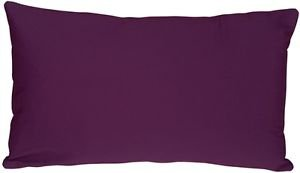 Pillow Decor - Caravan Cotton Purple 12x19 Throw Pillow  - SKU: SE1-0001-06-92