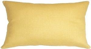 Pillow Decor - Tuscany Linen Banana Yellow 12x20 Throw Pillow