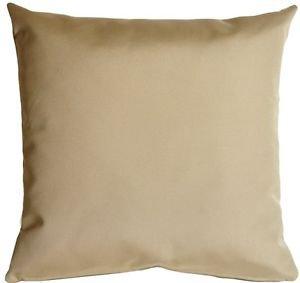 Pillow Decor - Sunbrella Antique Beige 20x20 Outdoor Pillow