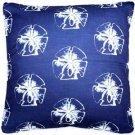 Pillow Decor - Hilton Head Sand Dollar Large Pattern Pillow 26x26