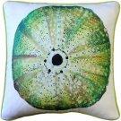 Pillow Decor - Big Island Sea Urchin Solitaire Throw Pillow 20x20