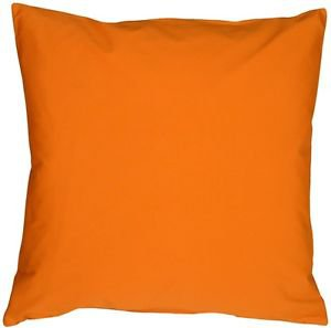Pillow Decor - Caravan Cotton Orange 23x23 Throw Pillow  - SKU: SE1-0001-03-23