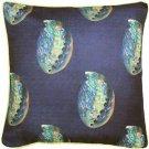 Pillow Decor - Shoal Cape Abalone Large Scale Print Throw Pillow 20x20