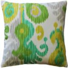 Pillow Decor - Ikat Journey Outdoor Throw Pillow 20x20  - SKU: WB1-0013-01-20