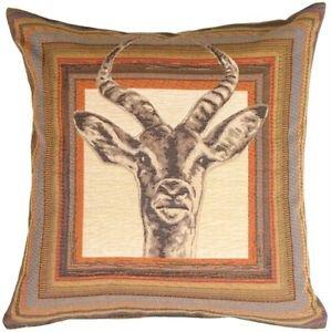 Pillow Decor - Antelope Tapestry Throw Pillow  - SKU: AB1-8429-00-19