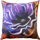 Pillow Decor - Purple Poppy 20x20 Throw Pillow - SKU: SH1-0005-01-20