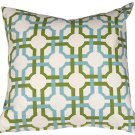 Pillow Decor - Waverly Groovy Grille Confetti 22x22 Throw Pillow