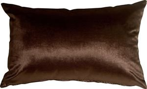 Pillow Decor - Milano 12x20 Brown Decorative Pillow  - SKU: YA1-0009-13-92