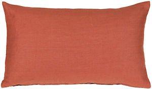 Pillow Decor - Tuscany Linen Sienna 12x20 Throw Pillow  - SKU: NB1-0005-11-92