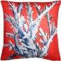 Pillow Decor - Ocean Reef Coral on Red Throw Pillow 20x20  - SKU: TC1-8080-02-20