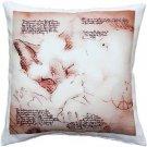 Pillow Decor - Dreaming Cat Throw Pillow 17x17  - SKU: LE1-0045-01-17
