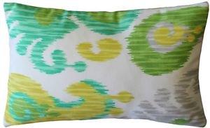 Pillow Decor - Ikat Journey Outdoor Throw Pillow 12x20  - SKU: WB1-0013-01-92