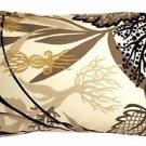 Pillow Decor - Waverly Fishbowl Caviar 12x19 Outdoor Pillow