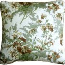 Pillow Decor - Brookside Garden Green 17x17 Throw Pillow  - SKU: PC1-0026-01-17
