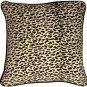 Pillow Decor - Ocelot Print Cotton Large 22x22 Throw Pillow