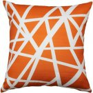 Pillow Decor - Bird's Nest Orange Throw Pillow 20X20  - SKU: PD2-0050-02-20