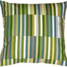 Pillow Decor - Waverly Side Step Marine 20x20 Throw Pillow