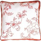 Pillow Decor - Ruby Flower Box Throw Pillow  - SKU: DB1-0010-01-16