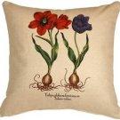 Pillow Decor - Tulips 20x20 Decorative Throw Pillow  - SKU: VB1-0005-02-20