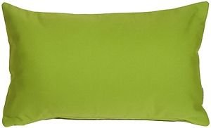 Pillow Decor - Sunbrella Macaw Green 12x20 Outdoor Pillow  - SKU: PD1-0002-01-92