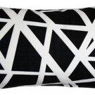 Pillow Decor - Bird's Nest Black Throw Pillow 12X20  - SKU: PD2-0050-05-92