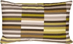 Pillow Decor - Waverly Side Step Avocado 12x20 Throw Pillow