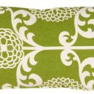 Pillow Decor - Waverly Fun Floret Spruce 12x20 Throw Pillow