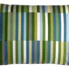 Pillow Decor - Waverly Side Step Marine 16x24 Throw Pillow