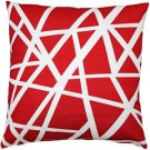 Pillow Decor - Bird's Nest Red Throw Pillow 20X20  - SKU: PD2-0050-03-20