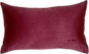 Pillow Decor - 12x20 Royal Suede Wine Throw Pillow  - SKU: OC1-0005-78-60
