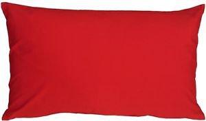 Pillow Decor - Caravan Cotton Red 12x19 Throw Pillow  - SKU: SE1-0001-01-92