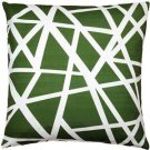 Pillow Decor - Bird's Nest Green Throw Pillow 20X20  - SKU: PD2-0050-04-20