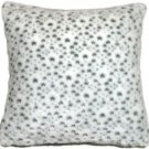 Pillow Decor - Snow Leopard Faux Fur 20x20 Throw Pillow  - SKU: YB1-0002-01-20
