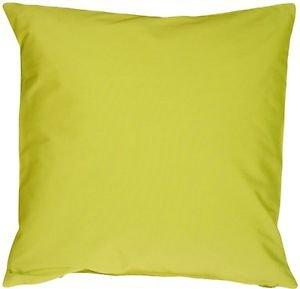 Pillow Decor - Caravan Cotton Lime Green 23x23 Throw Pillow