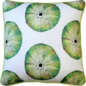 Pillow Decor - Big Island Sea Urchin Large Scale Print Throw Pillow 20x20