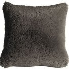 Pillow Decor - Soft Plush Gray 20x20 Throw Pillow  - SKU: MD1-0063-01-20