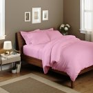 Pink Solid Queen Size Sheet Set 1000 Thread Count Egyptian Cotton